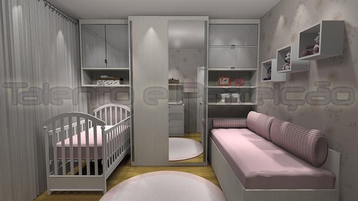 moveis para quarto de bebe sob medida 3 Quotes ~ Quarto Pequeno Sob Medida